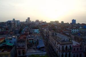 Havana 'sneak up' view
