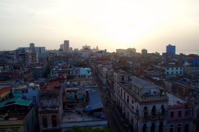 Havana 'sneak up' view
