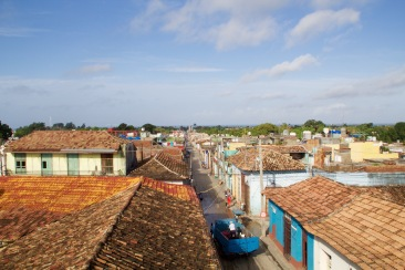 Trinidad Balcony View