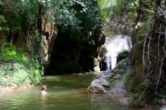 Waterfall of Parque El Cubano