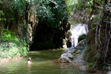 Waterfall of Parque El Cubano