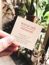 Mistral Cafe
